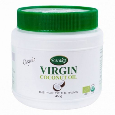 Масло кокосовое Extra Virgin 500 мл Baraka