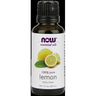 Лимон (100% эфирное масло) NOW, 30 мл