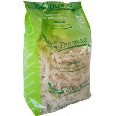Рисовые макароны Спираль, Диетика, 250 г