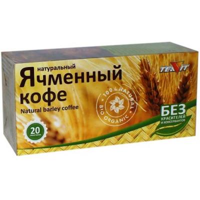 Ячменный кофе натуральный, Тиавит, 20 шт. по 3 г