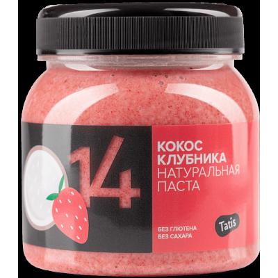 Кокосовая паста c клубникой,Tatis, 250 г
