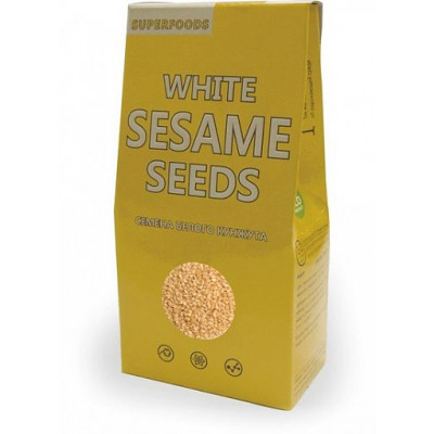 Семя белого кунжута, SuperFoods, 150 г