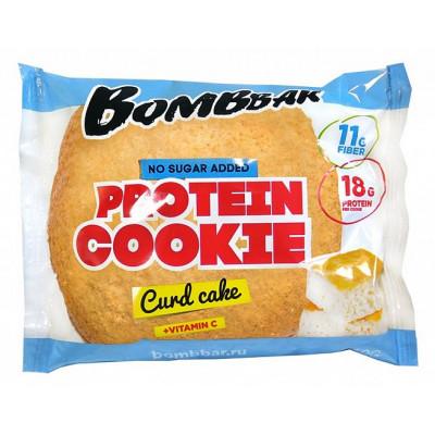 Печенье протеиновое Творожный кекс, Bombbar, 60 г