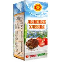 Хлебцы льняные Томат, укроп, Тиавит, 80 г