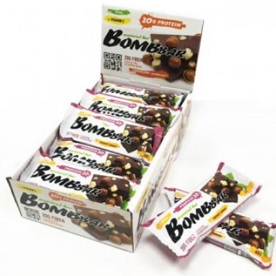 Протеиновый батончик Шоколад с фундуком, Bombbar, 60 г