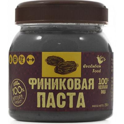 Финиковая паста натуральная, Evolution Food, 250 г