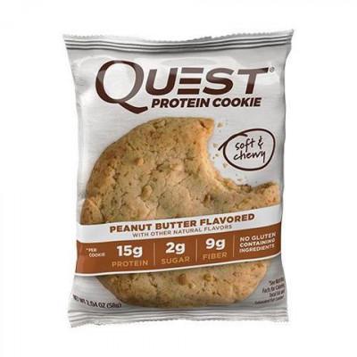 Печенье Peanut Butter Cookie, Quest Cookie, 59 г
