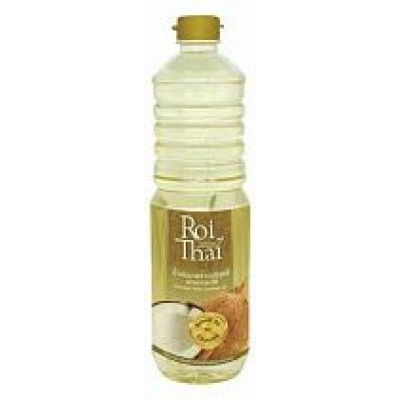 Рафинированное кокосовое масло (для жарки), ROI THAI, 1 л