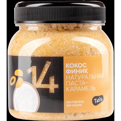 Кокосовая паста-карамель с сиропом финика,Tatis, 250 г