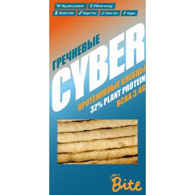 Хлебцы хрустящие, протеиновые Гречневые, Cyber Bite, 150 г