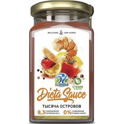Соус Тысяча Островов, Dieta Sauce, 310 г