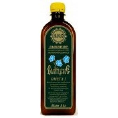 Масло льняное «Вологодское», Компас здоровья, 500 мл.