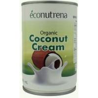 Органические кокосовые сливки , 22%, Econutrena, ж/б 200мл.