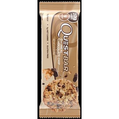 Протеиновый батончик Oatmeal Chocolate Chip Овсяное печенье с шоколадом, Questbar, 60 г