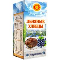 Хлебцы льняные Черника, Тиавит, 80 г