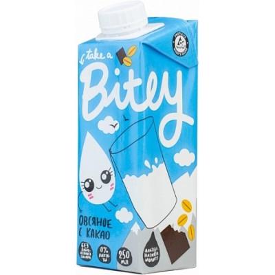 Молоко растительное Овсяное с какао, Bitey, 250 мл