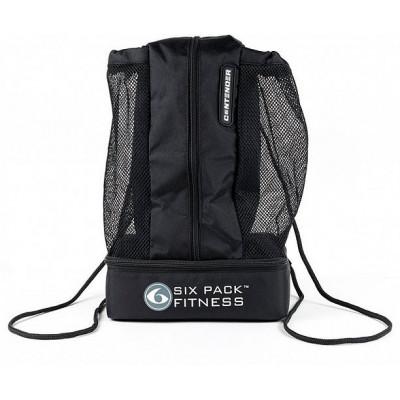 Рюкзак с контейнером Contender Stealth (черный/черный) 6PackFitness