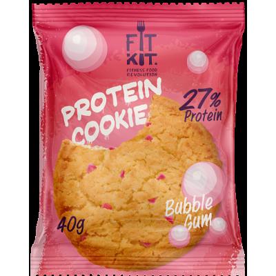 Протеиновое печенье Бабл-Гам, FitKit, 40 г