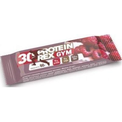 Батончик протеиновый Малина-йогурт GYM 30%, ProteinRex, 60 г