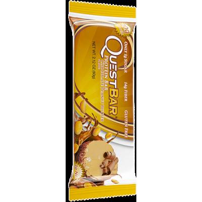 Протеиновый батончик Chocolate Penaut Butter Шоколадно-арахисовое масло, Questbar, 60 г