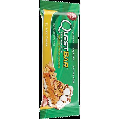 Протеиновый батончик Peanut Butter Supreme Арахисовое масло, Questbar, 60 г