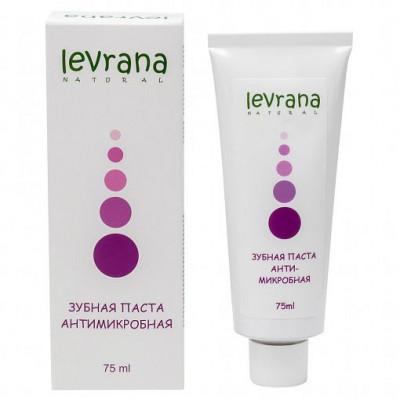 Зубная паста «Антимикробная» с лавандой и магнолией, Levrana, 75 мл