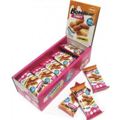 Протеиновая конфета Финик Арахис Кунжут, Bombbar, 18 г