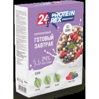 Готовый завтрак с высоким содержанием протеина 24% Лесные ягоды, ProteinRex, 250 г