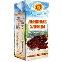 Хлебцы льняные Шоколад, Тиавит, 80 г