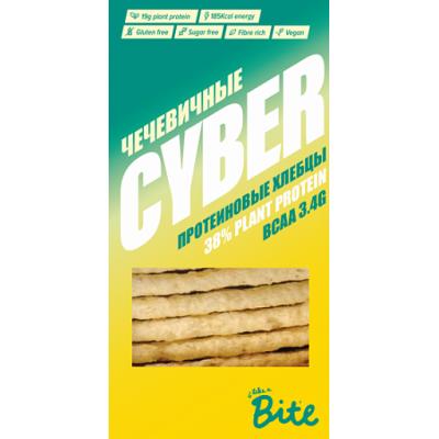 Хлебцы хрустящие, протеиновые Чечевичные, Cyber Bite, 150 г