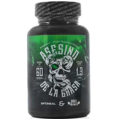 Asesino De La Grasa OptiMeal, 620 мг (60 капсул)