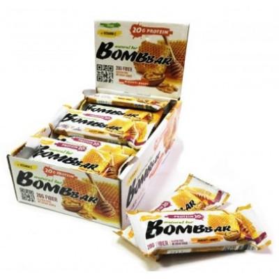 Протеиновый батончик Грецкий орех с медом, Bombbar, 60 г