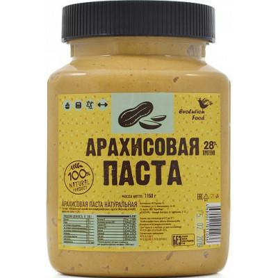 Арахисовая паста натуральная, Evolution Food, 1150 г
