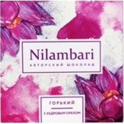 Шоколад Nilambari горький с кедровым орехом, Grenmania, 65 г