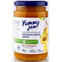 Джем абрикосовый низкокалорийный, Yummy jam, 350 г