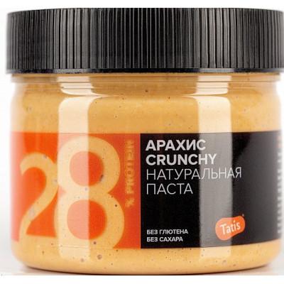 Паста арахисовая натуральная хрустящая, Tatis, 300 г