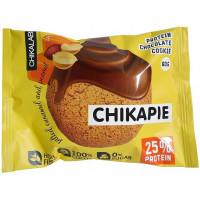 Печенье протеиновое глазированное с начинкой Арахис, ChikaLab, 40 г