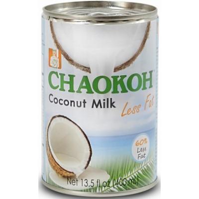 Кокосовое молоко с пониженным содержанием жира, Chaocon, 400 мл, ж/б