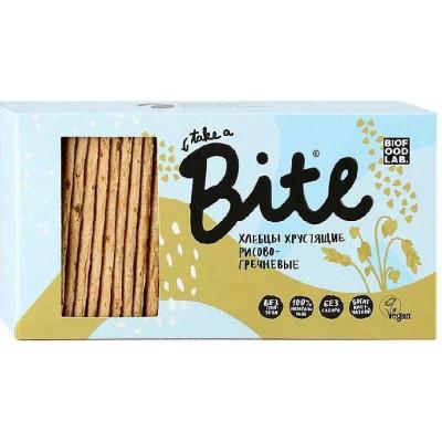 Хлебцы хрустящие рисово-гречневые, Bite, 150 г