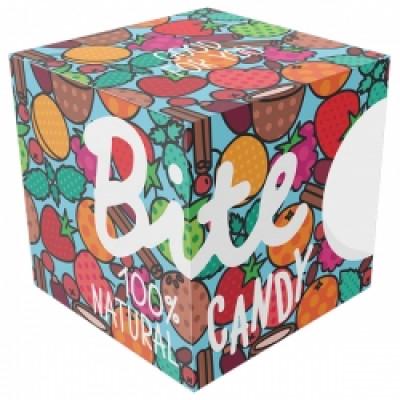 Набор фруктово-ягодных батончиков Bite Candy голубой, 120 г