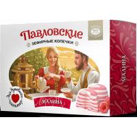 Зефир «Павловские зефирные колечки со вкусом малины», Эко пастила, 140 г