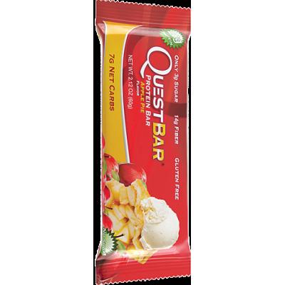 Протеиновый батончик Apple Pie Яблочный пирог, Questbar, 60 г