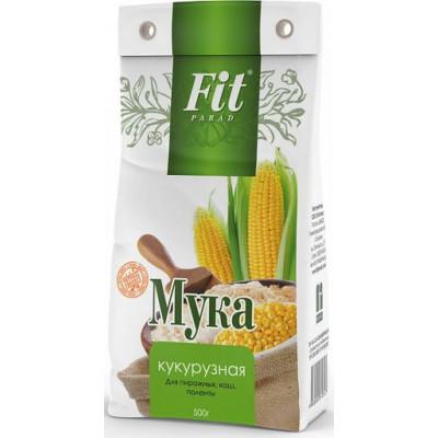 Мука кукурузная, ФитПарад, 500 г