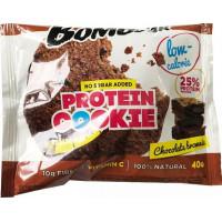 Печенье низкокалорийное протеиновое Шоколадный брауни, Bombbar, 40 г