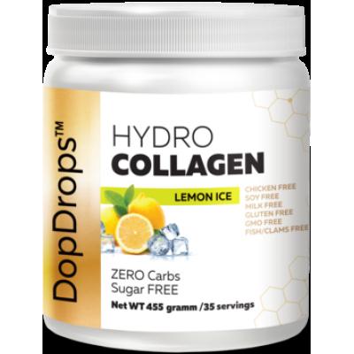 Гидролизованный коллаген Hydro Collagen Lemon Ice, DopDrops, 455 г