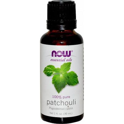 Пачули (100% эфирное масло) NOW, 30 мл