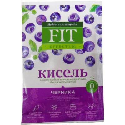 """Кисель витаминизированный """"Черника"""" б/р, ФитЭффектум, пакет-саше 30 г"""