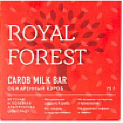 Шоколад из кэроба, Royal Forest, 75 г