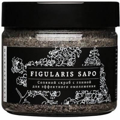 Скраб-мыло с глиной и морской солью, Laboratorium, 100 мл