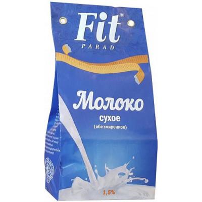 Молоко сухое обезжиренное ФитПарад 1.5%